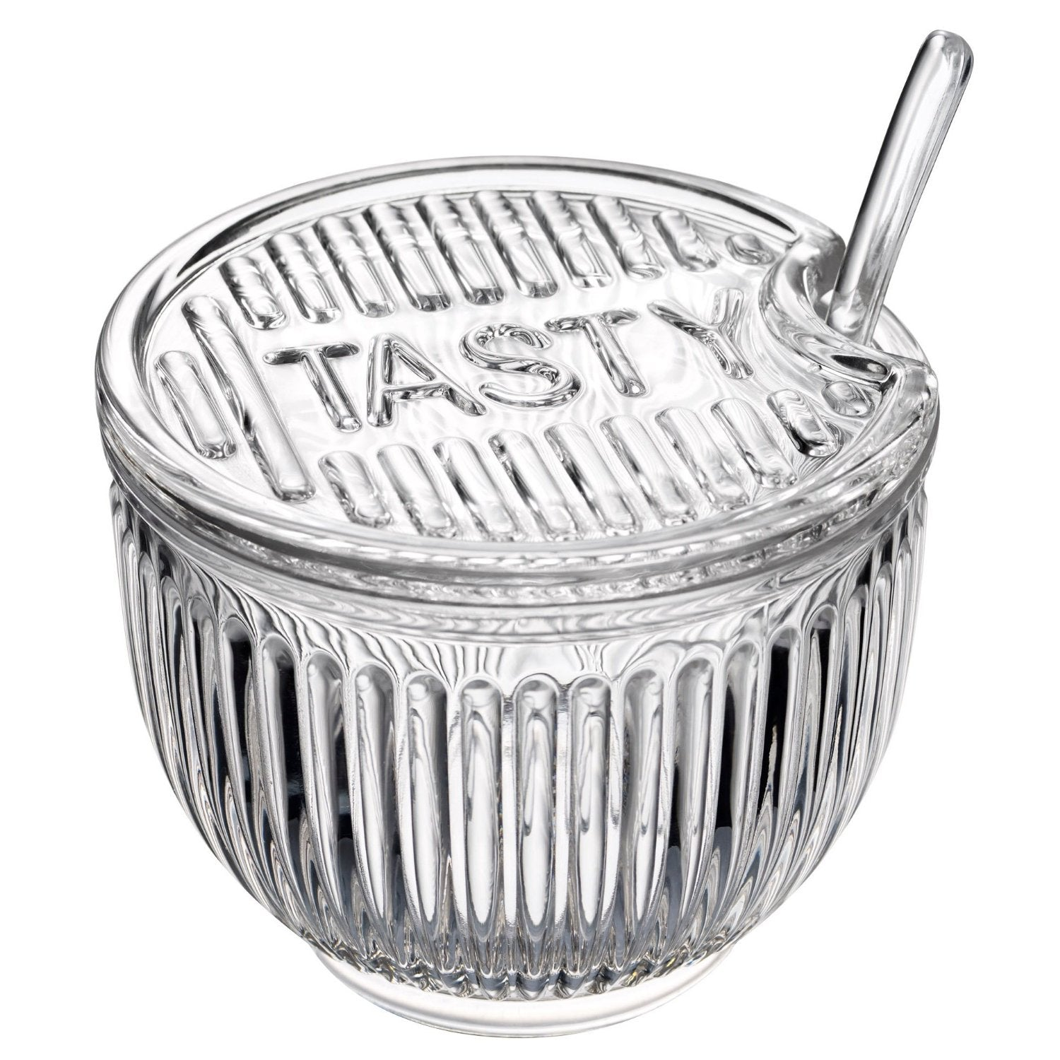 Tasty All-purpose Jar With Spoon