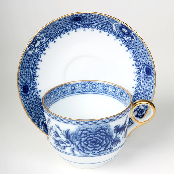 Imperial Blue Tea Cup & Saucer