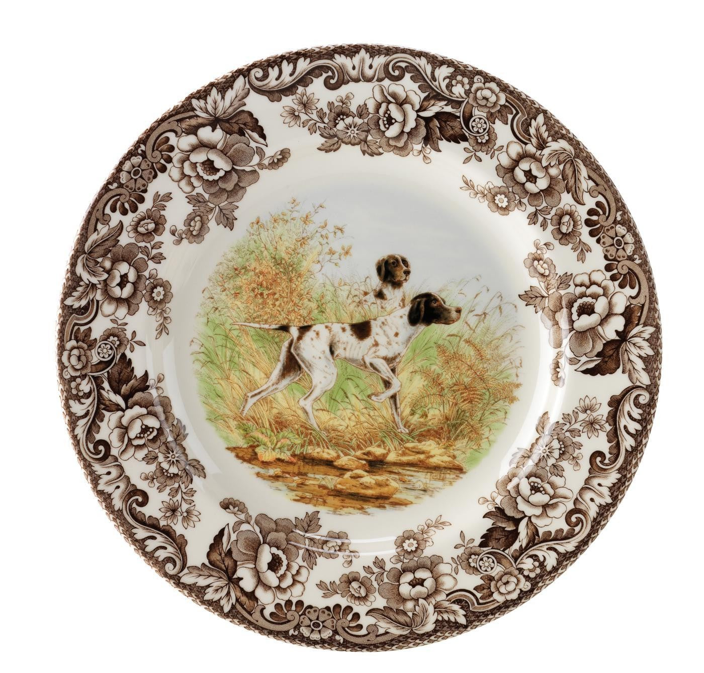 Woodland Salad Plate - Pointer