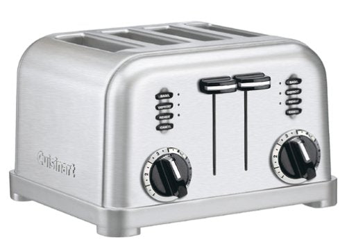 Metal Classic 4-Slice Toaster - Stainless Steel