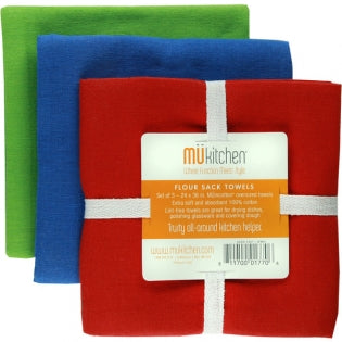 Flour Sack Towel Set of 3 Jewel