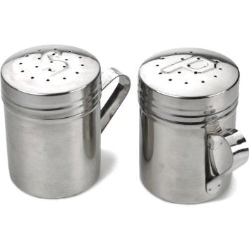 Salt & Pepper Shakers 10 oz