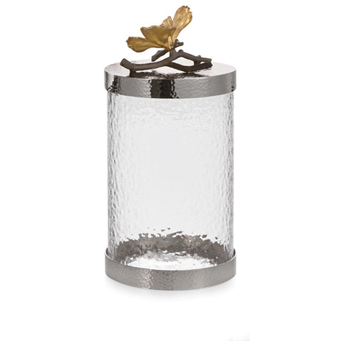 Butterfly Ginkgo Canister - Med
