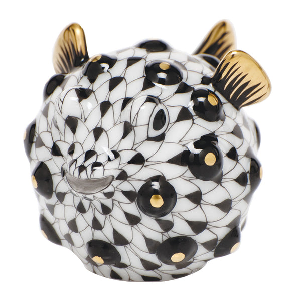 Puffer Fish Fishnet Black