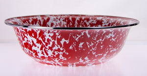 Serving Basin-Red Swirl