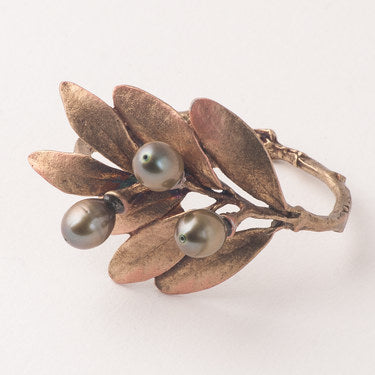 Napkin Ring Olive Set/4