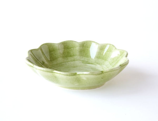 Basic Green Sm Oyster Bowl