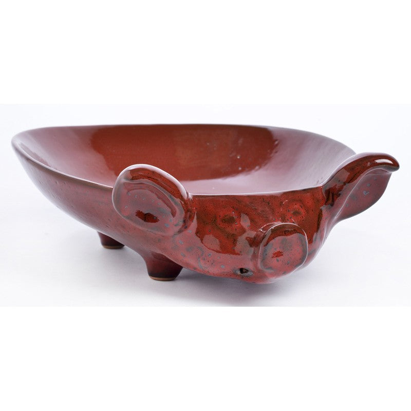 Ceramic Pig Serving Dish Md