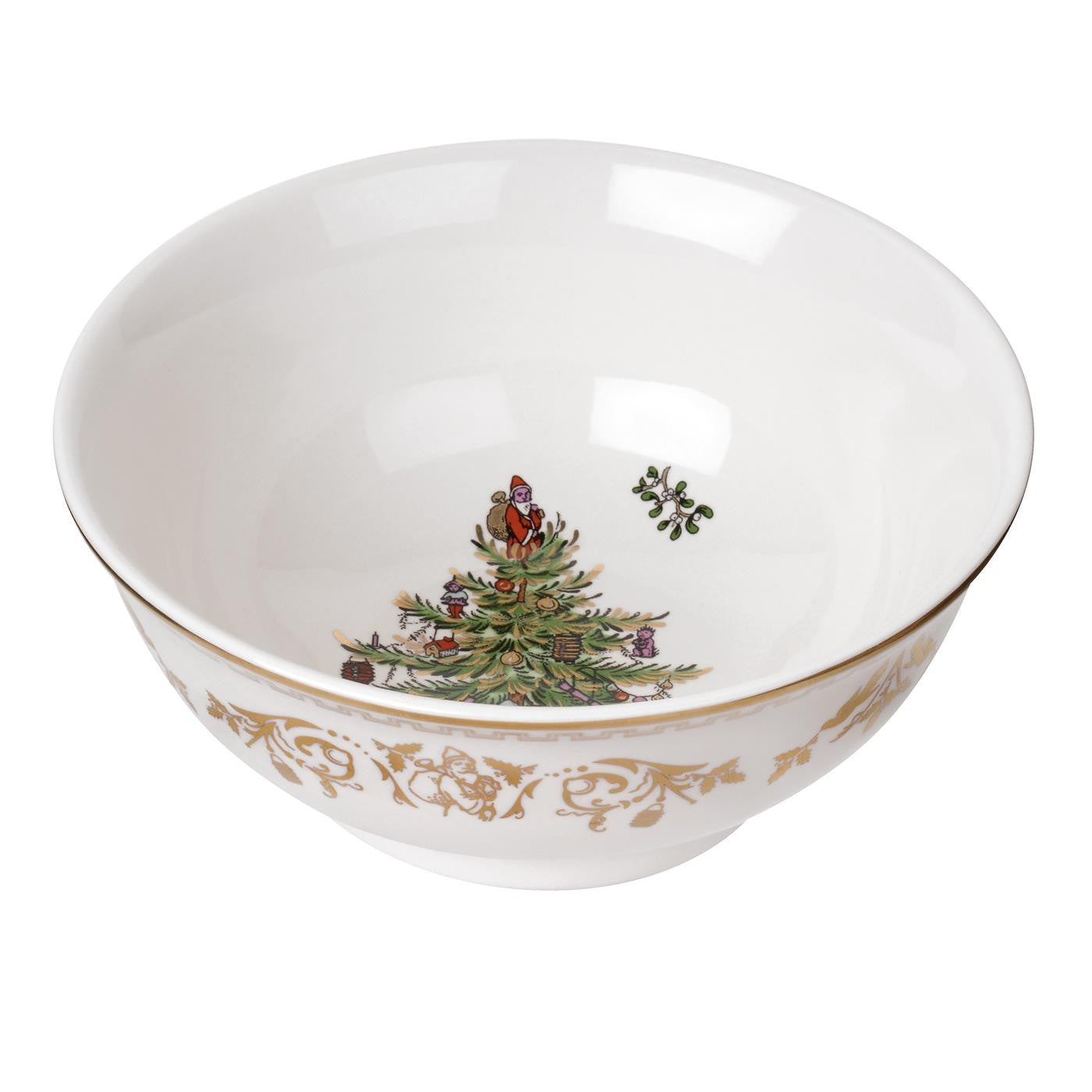 Christmas Tree Gold Collection Small Bowl