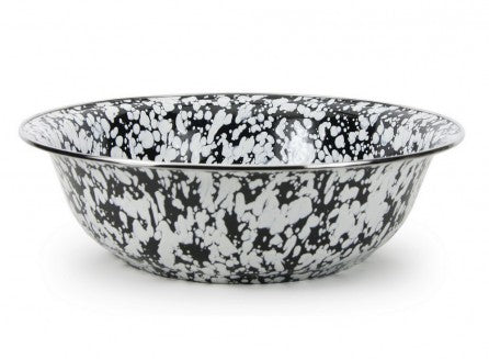 Serving Basin Black Swirl