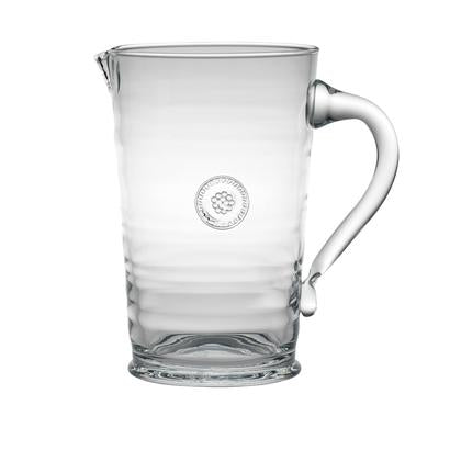 Berry & Thread Glass Pitcher 2.2 Quart
