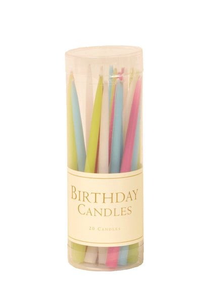 Birthday Candles-Pastels