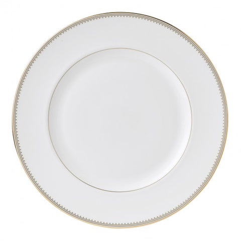 Golden Grosgrain Dinner Plate