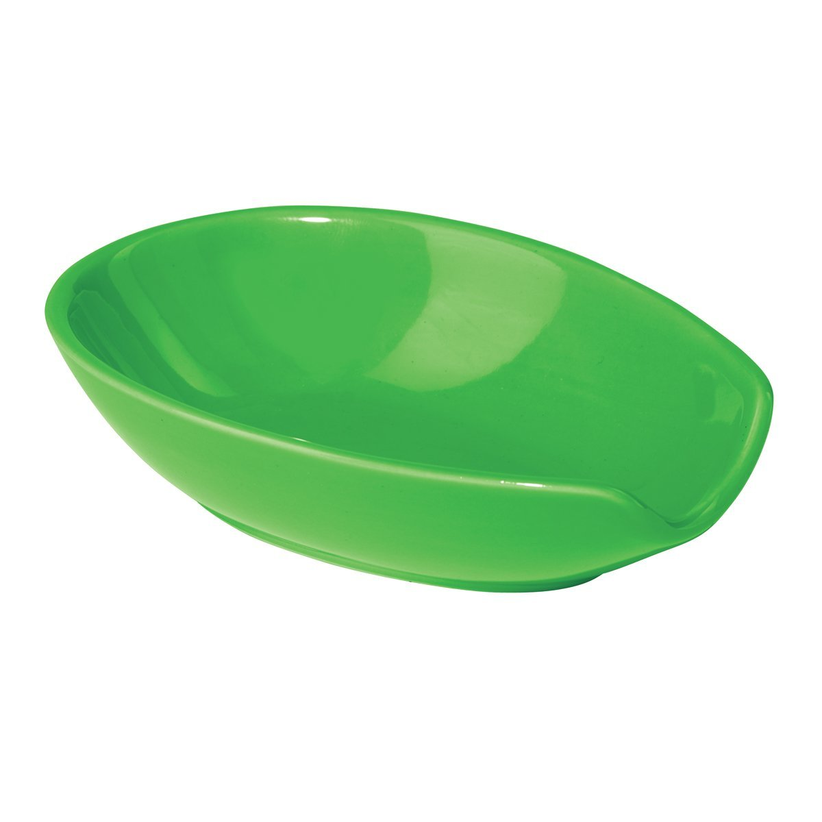 OGGI Ceramic Spoon Rest Green