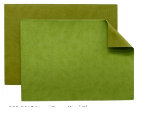 Vinyl Placemats Lime/Citron