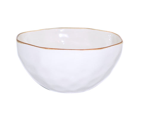 Cantaria Cereal Bowl - White