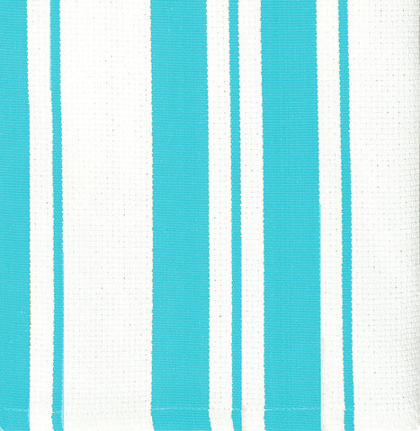 Stripe Cotton Dishcloth Set of 2-Aquamarine