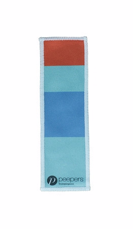 Bookmark Cleaning Cloth Light Blue
