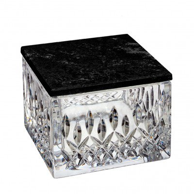 Lismore Opulence Box with Marble Lid
