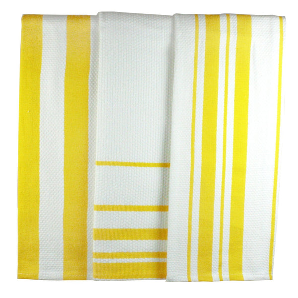 MUkitchen Lemon Striped Dishtowel