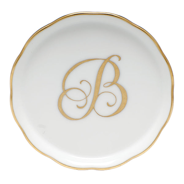 "Coaster with Monogram ""B"""