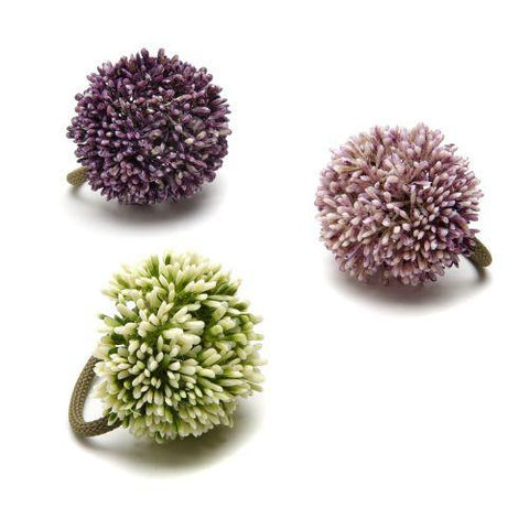 Allium Napkin Ring -Purple