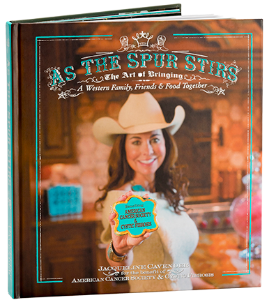 """As The Spur Stirs"" Cookbook"