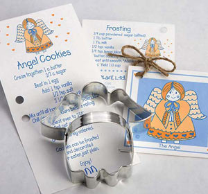 Cookie Cutter Carded Angel