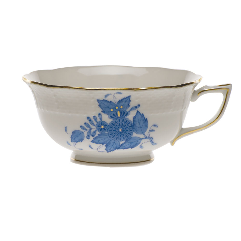 Chinese Bouquet Blue Tea Cup