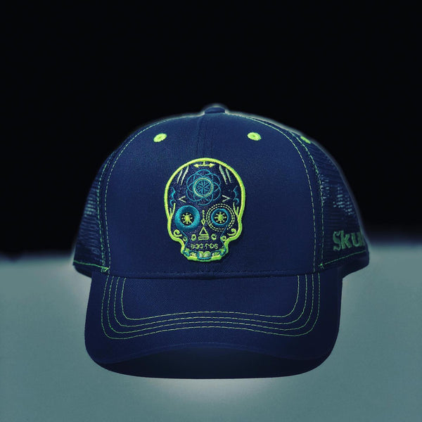 Analog Glow Curved Brim Mesh Back