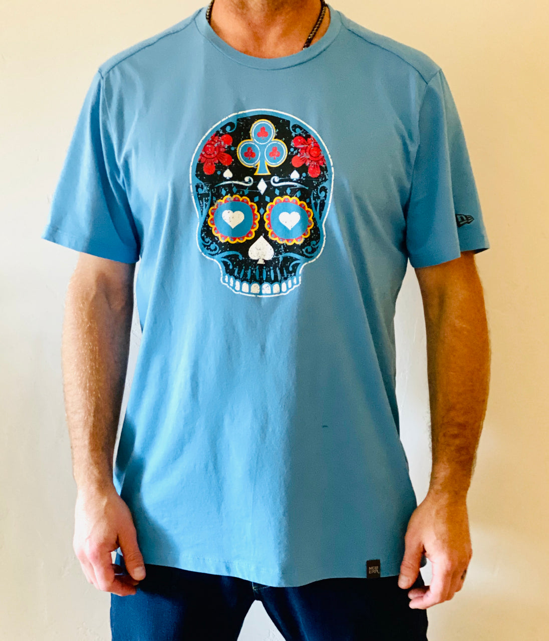 Men's New Blue Jack T Shirt