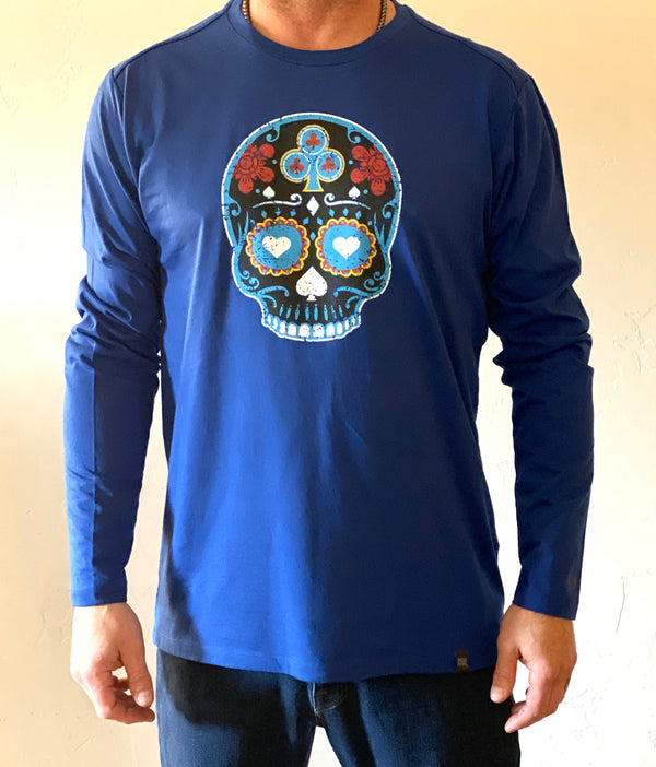 New Blue Jack Long Sleeve T Shirt