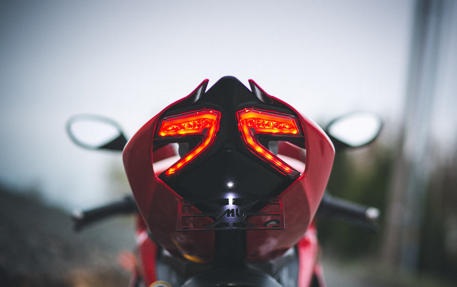 Ducati Panigale 899 and 1199 Slimline LED Tail Light and Fender Elim. Kit