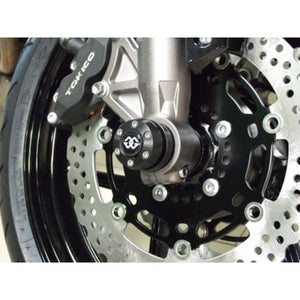 Gilles Tooling AP.GT Front Axle Protectors for the BMW R-nine-T