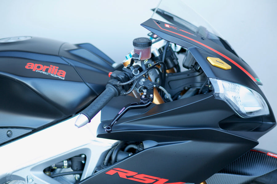 RSV4 and Tuono Racefit Adjustable Levers