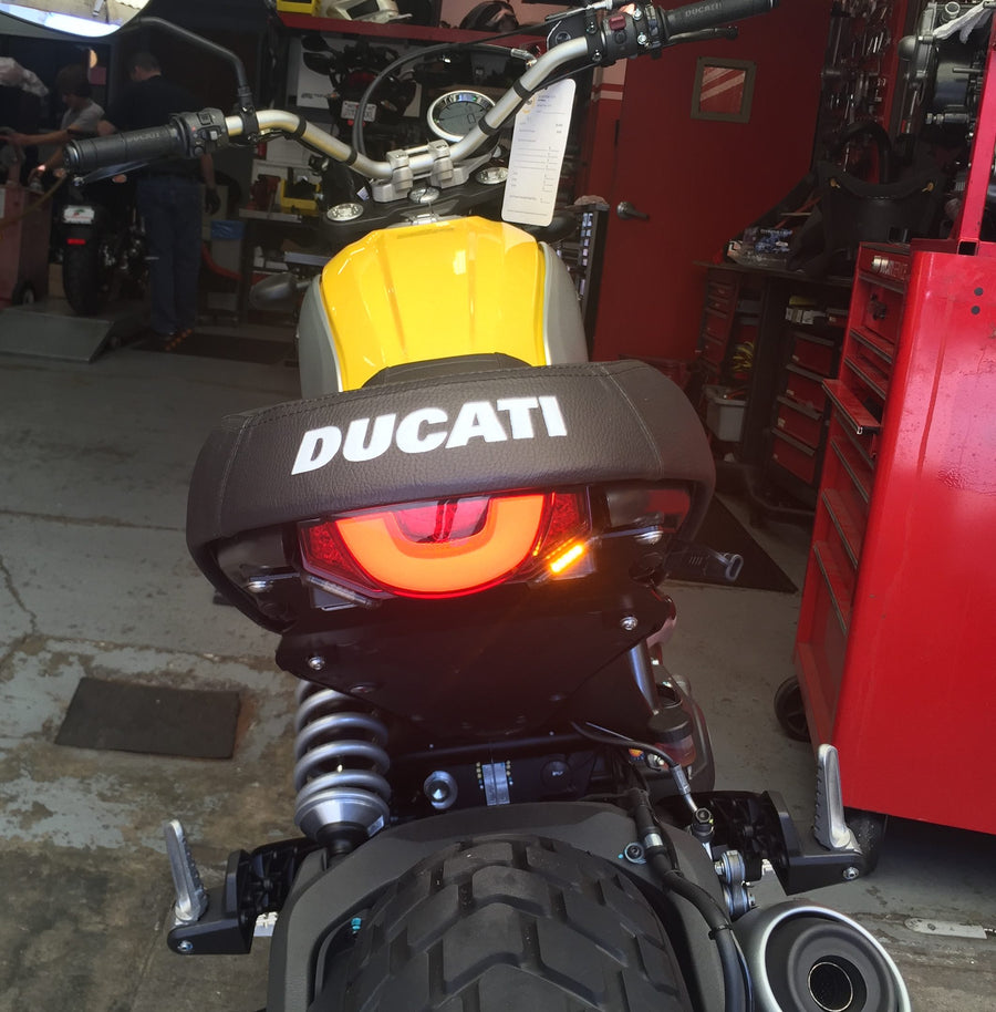 Ducati Scrambler Mini Slimline Turn Signal Kit