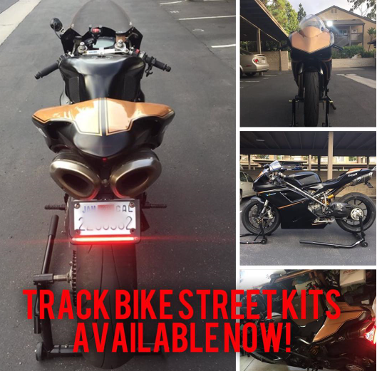 Track Bike To Street Kit