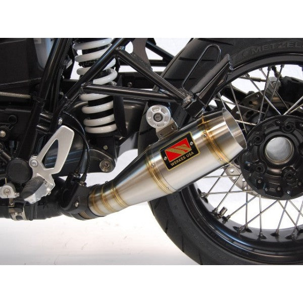 Competition Werkes GP Slip On Exhaust for BMW R nineT (2014+)