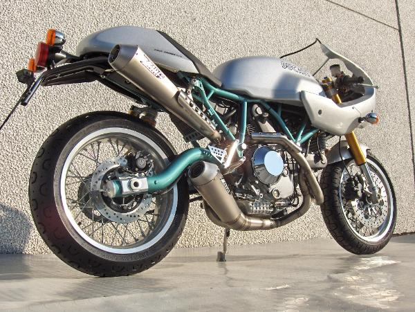 ZARD Full Exhaust System for the Ducati Sportclassic