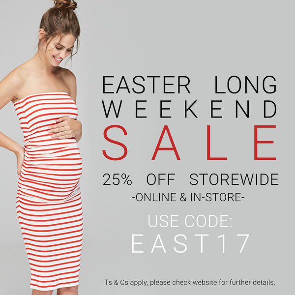 Easter Long Weekend Sale Terms & Conditions