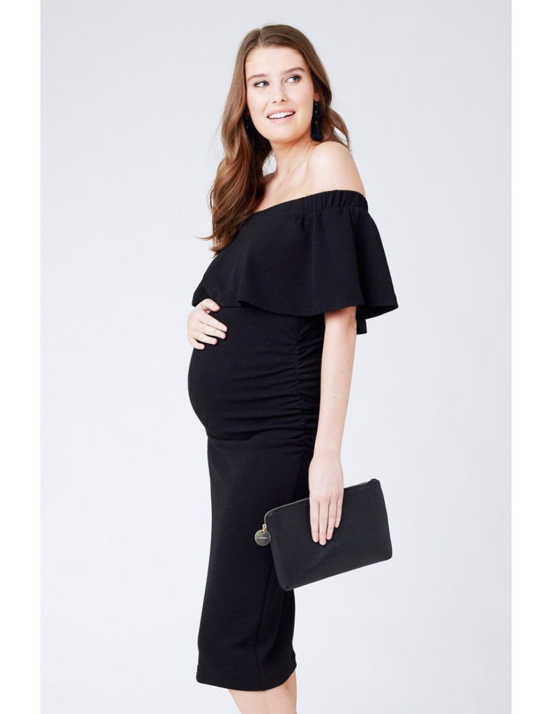 Maternity dress evening dresses for pregnant women glowmama soiree off shoulder dress soiree off shoulder dress ombrellifo Image collections