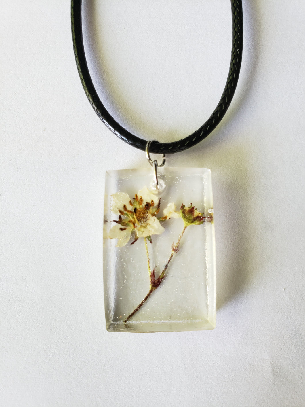 Small Pressed flower Pendant