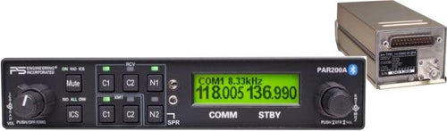 PS Engineering PAR200A Audio Panel/VHF Comm/Intercom/BlueTooth