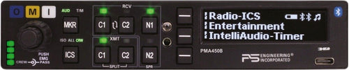 PS Engineering PMA450B Audio Panel/Marker/Intercom/BlueTooth 050-450-0601