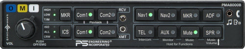 PS Engineering PMA8000B Audio Panel/Marker/Intercom