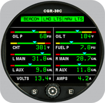Electronics International CGR-30C (Uses Existing EDC)