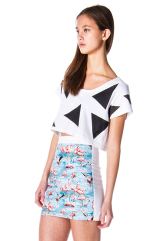 angles crop top