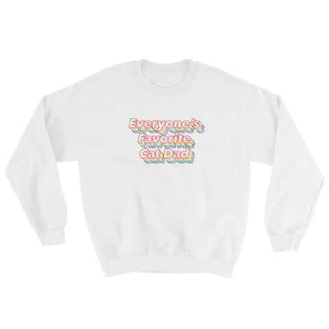 Everyone's Favorite Cat Dad Sweatshirt