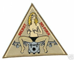 386th GULF IRAQ WAR AFGHANISTAN OIF OEF B110 SECRET PORN MILITARY PATCH