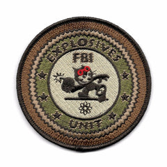 Felix with Bomb - FBI Explosives Unit Bomb Detective Patch